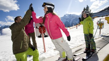 Children's ski school|children's ski school